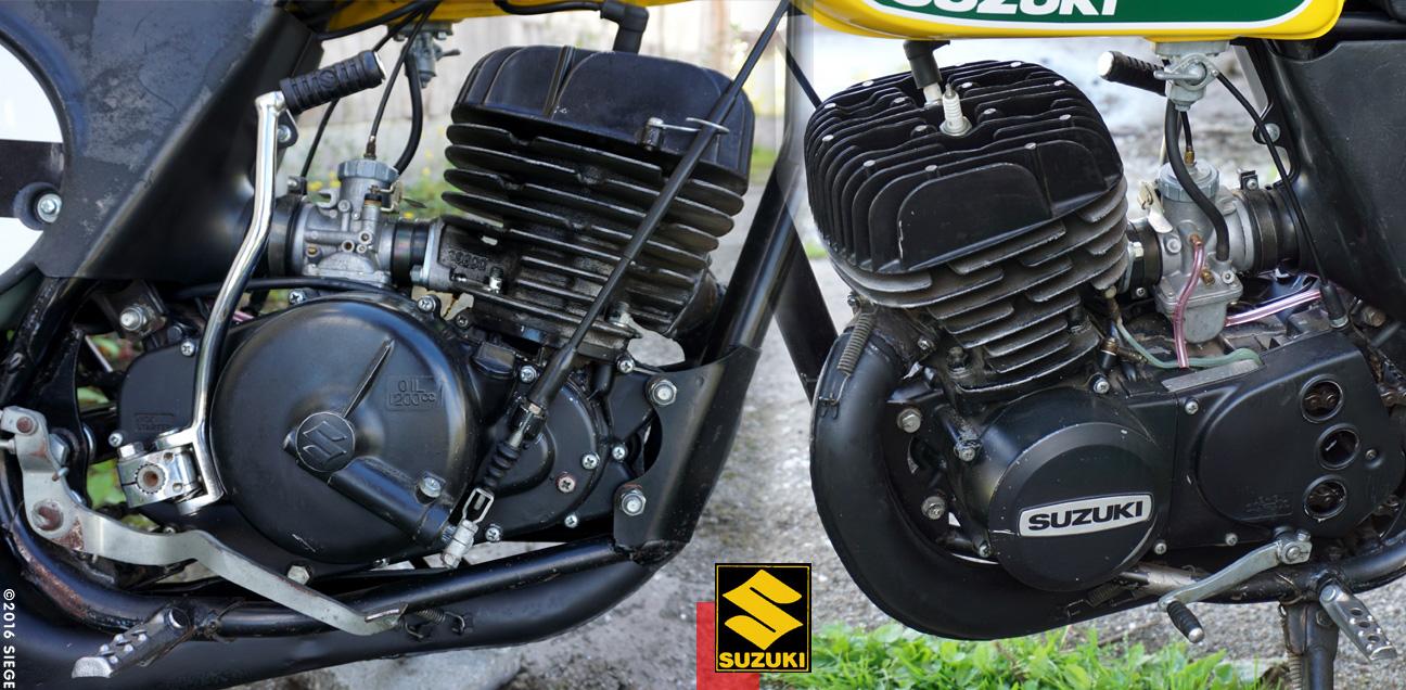 Suzuki Tm  Engine